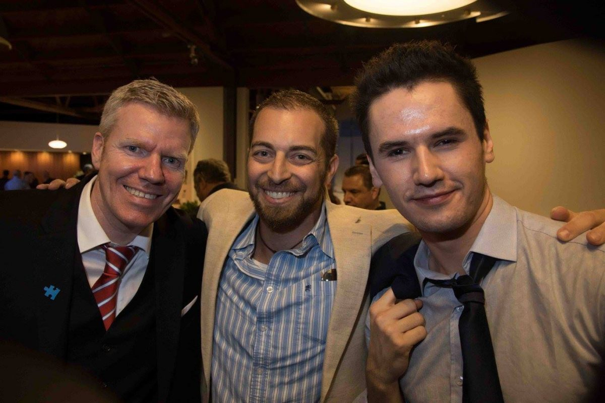 Adam Kokesh, Monty Geer, and guest