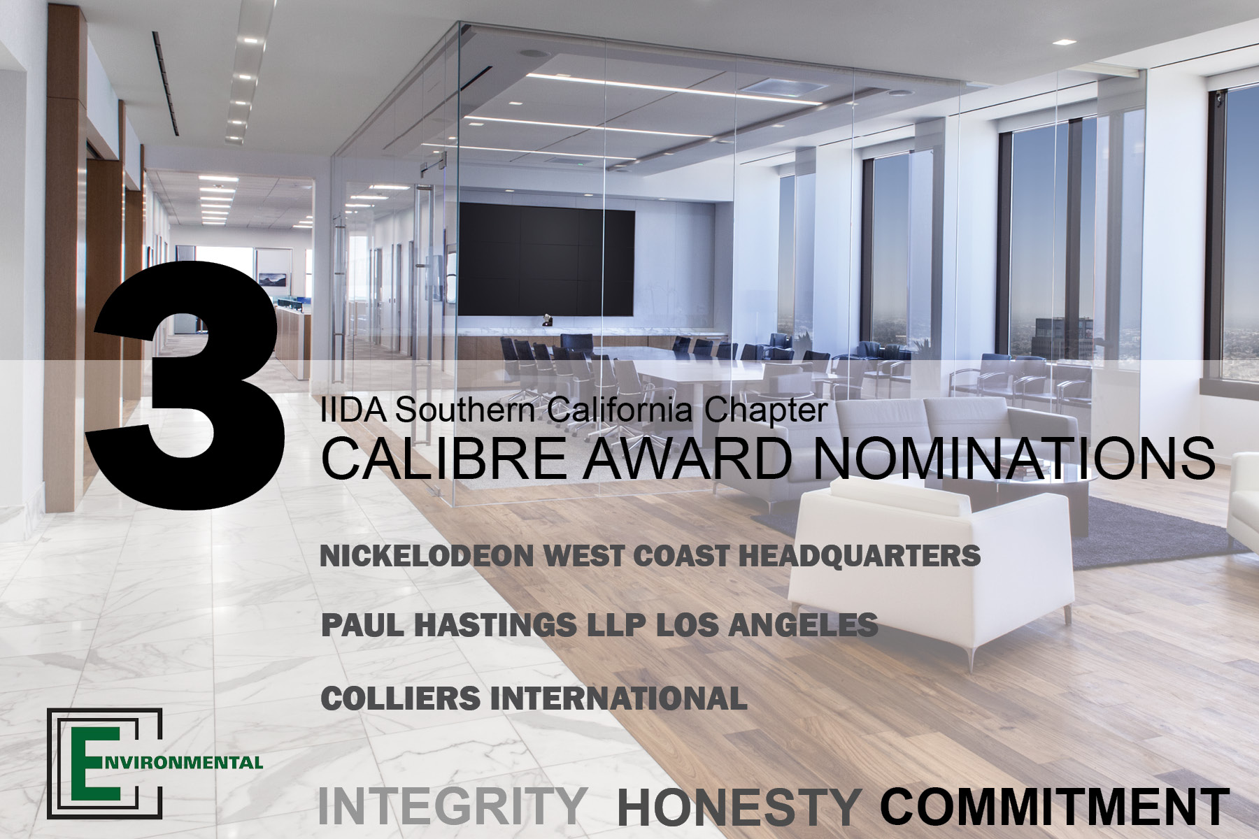 Calibre Award Announcement