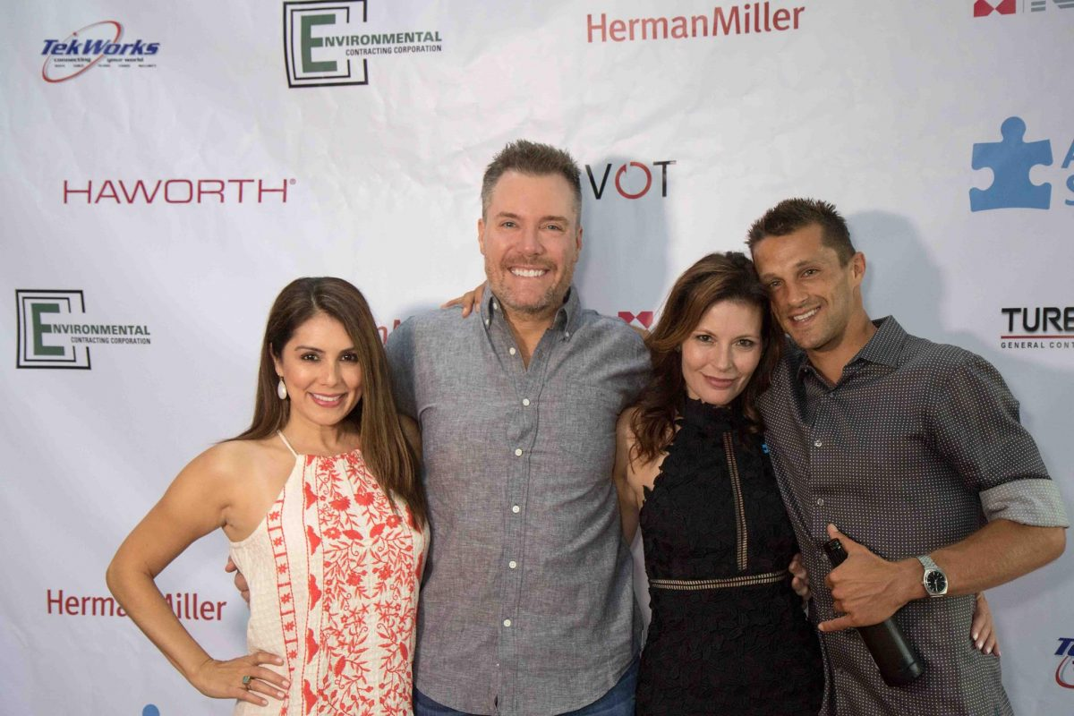 Kevin Strom, Kristen Mays and guests